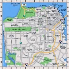 san francisco map it san francisco neighborhoods map san francisco mappery