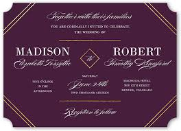 wedding invitations shutterfly everlasting elegance 5x7 wedding card wedding invitations