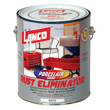 lanco rust eliminator 1 gal acrylic urethane white interior