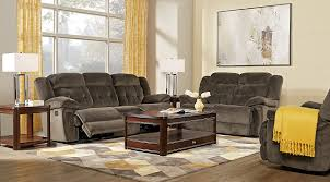 livingroom ls normandy chocolate 8 pc living room reclining living rooms brown