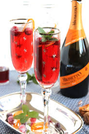christmas champagne cocktails creative christmas recipes to try this year