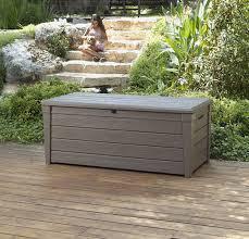 keter plastic garden bench box with storage entryway furniture ideas