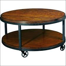 industrial coffee table with wheels coffee table industrial wheels derekhansen me