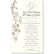 create your own wedding program wedding invitation programs vertabox