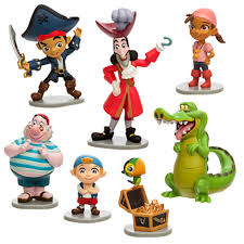 the disney store jake and the neverland figures set if
