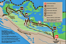 Sanibel Island Map Bikewalklee Blog Biwl Column Awaiting Wildlife Drive Reopening