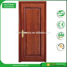 Interior Doors Solid by 5 Discount Hdf Solid Wood Interior Doors Bedroom Swing Type