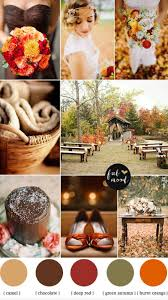 222 fall wedding colors images autumn wedding