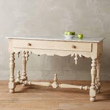 Marble Top Buffet by Brown Wooden White Marble Top Brass Legs Buffet