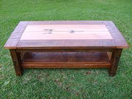 Rustic Reclaimed Outdoor Furniture Hand Made Reclaimed Heart Pine Coffee Table By Norm U0027s Custom