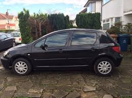 2004 black peugeot 307 1 4 manual available in west london quick