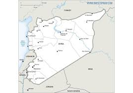 map of syria free vector map of syria free vector at vecteezy