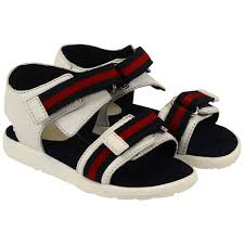 Gucci Clothes For Baby Boy Gucci Sandals White 257759 Bln10 9064 Designer Childrenswear