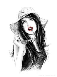 imagen blanco y negro en illustrator romantic collection by anna ulyashina illustrator dibujos