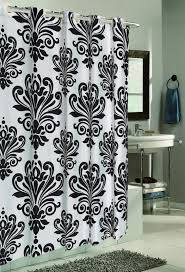 High End Fabric Shower Curtains Charming Oval Chrome Shower Curtain Rod Designer Fabric Shower