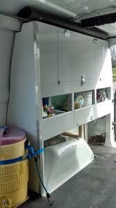 Shelves For Vans by Custom Work Van Storage Shelves And Cabinets Youtube