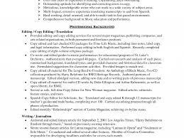 film editor resume sample editor resume resume example editor resume