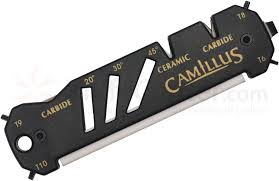 Sharpening Ceramic Kitchen Knives Camillus 19224 Glide Hook Knife And Shear Sharpener Ceramic And