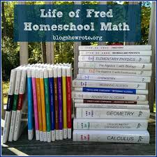life of fred homeschool math blog she wrote