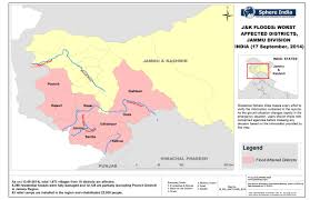 India Regions Map by Gis Maps On Recent Jammu U0026 Kashmir Floods 2014 9th To 23rd