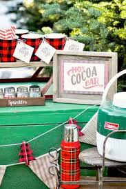 cocoa bar with free printable signs tags by