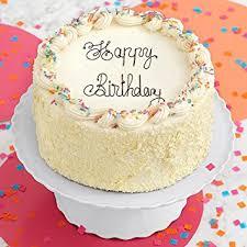 gourmet birthday cakes shari s berries vanilla bean happy birthday cake 1 count