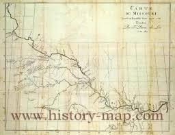 map of missouri river river