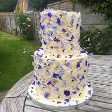 wedding cake edible decorations edible petal wedding cakes mon cheri bridals