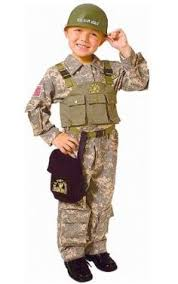 Halloween Costumes Army Cardboard Box Tank Costume Kid Mini Logan
