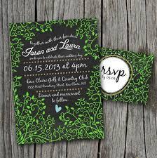 chalkboard wedding invitations design your wedding invitations chalkboard creative