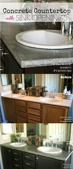 diy bathroom countertop ideas best 25 diy bathroom countertops ideas on bathroom