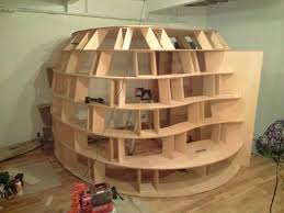 Bed Fort I Really Want One Bad Bookshelf Bed Fort Geekologie