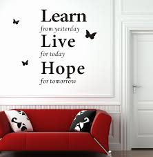 modern wall decor wall decor stickers modern wall words