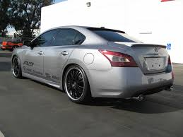 nissan altima tuner stillen 2009 nissan maxima sema project car progress finished