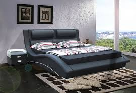 contemporary king size bed frames and headboards black