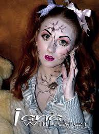 Killer Doll Halloween Costume 25 Cracked Doll Makeup Ideas Scary Doll
