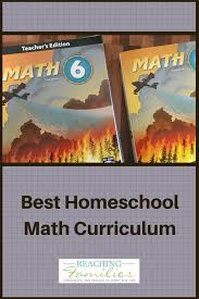 best homeschool math curriculum our choice math