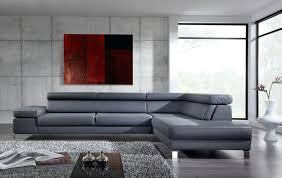 canap gris cuir salon avec canap gris fonc avec canape canape gris design deco in