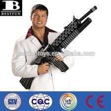 Inflatable Halloween Costumes China Oem Facotry Tony Montana Inflatable Weapon Vinyl Inflatable