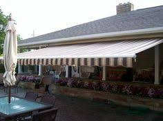 How Much Is A Sunsetter Awning Sunsetter Motorized Retractable Awnings Backyard Pinterest