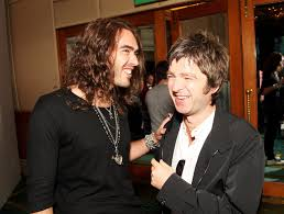 russell brand and noel gallagher photos photos the o2 silver