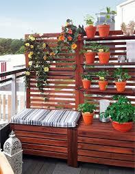 balkon sichtschutz 40 ideen für attraktive balkon gestaltung für wenig geld
