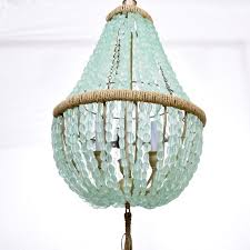 How To Make A Fake Chandelier Best 25 Sea Glass Chandelier Ideas On Pinterest