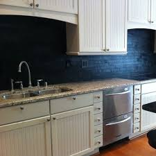 black backsplash kitchen black slate backsplash houzz
