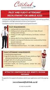 airasia vs citilink citilink pilot and flight attendant recruitment forum pramugari
