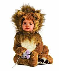7 Month Baby Halloween Costumes Amazon Rubie U0027s Costume Infant Noah Ark Lion Cub Romper Clothing