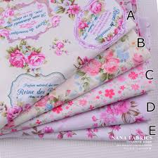 aliexpress com buy pink floral patchwork fabric kit shabby