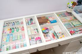 Scrapbooking Tables Desks Sew Can Do Making A Dream Craft Room In A Small Space
