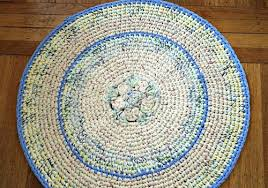 small round rug crochet rug area rug rocking chair rug kitchen