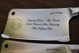 engraved kitchen knives engraved cleavers we engrave knives